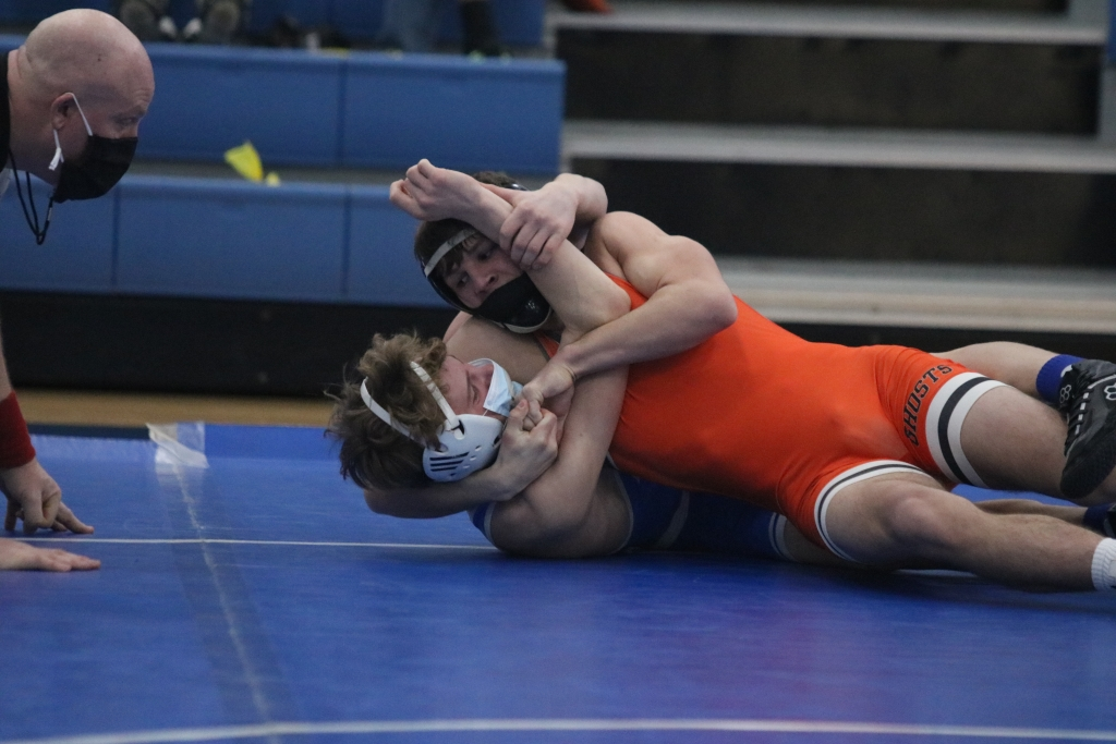 Despite the schools being five miles apart, the Kaukauna wrestling team made the rare trek to Wrightstown for a triangular with the Tigers and Xavier...