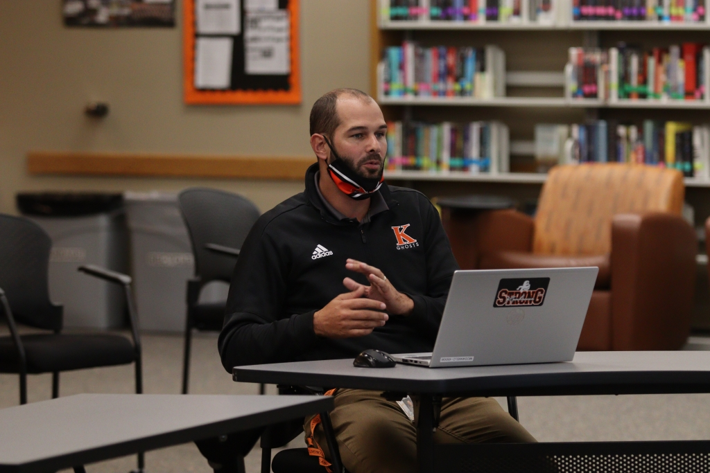 Superintendent Mark Duerwaechter gave the Kaukauna Area School District's Stronger Together Reopening Update at last week's board of...