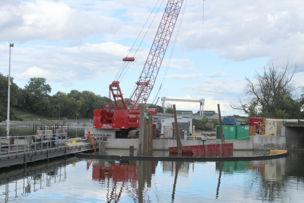 A sinkhole has developed in the Badger hydroelectric power canal in Kaukauna, forcing Kaukauna Utilities to shut down the canal and hydro plant...