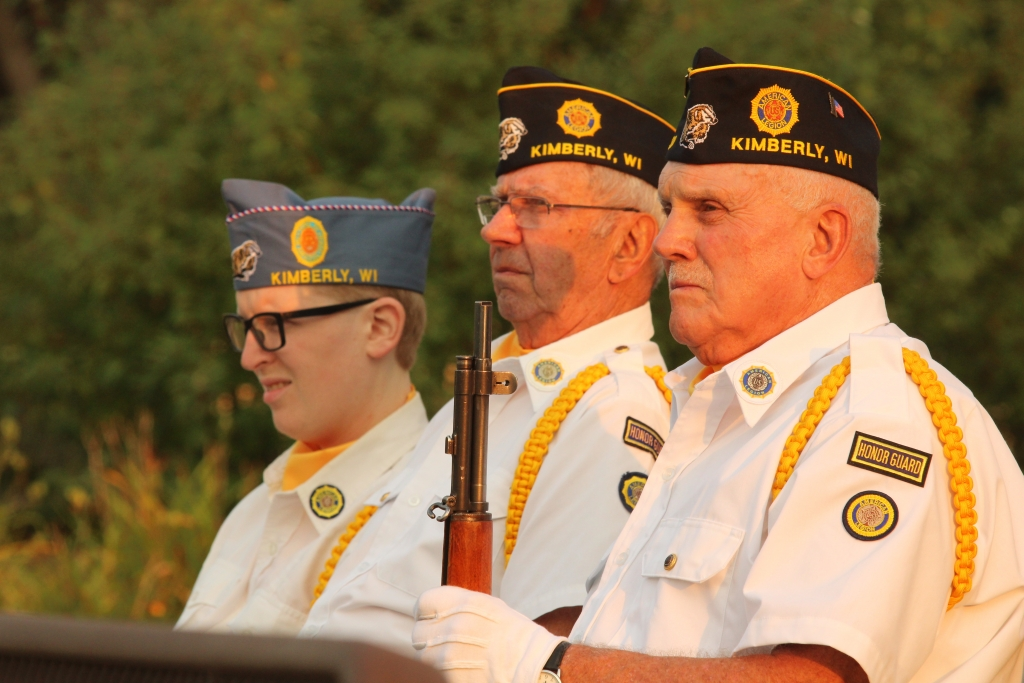 The American Legion Post No. 60 from Kimberly held a program on Saturday evening to observe the 20th anniversary of the 9/11 attacks on the United...