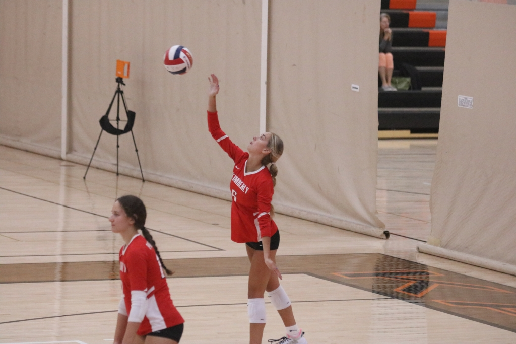 The Kimberly girls' volleyball team fell behind 2-0 against the No. 1 team in the state in Division 1. Appleton North was unbeaten at 12-0...