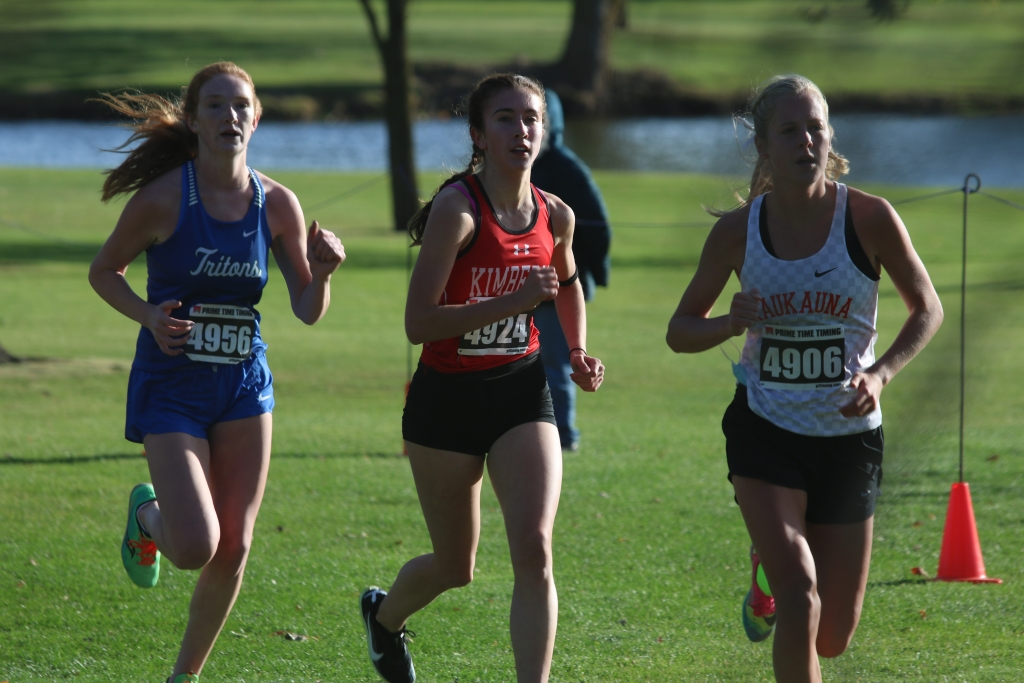 The Kimberly boys' cross country team finished second overall at a D1 sectional in Hortonville Friday afternoon, led by Nolan Richey's...