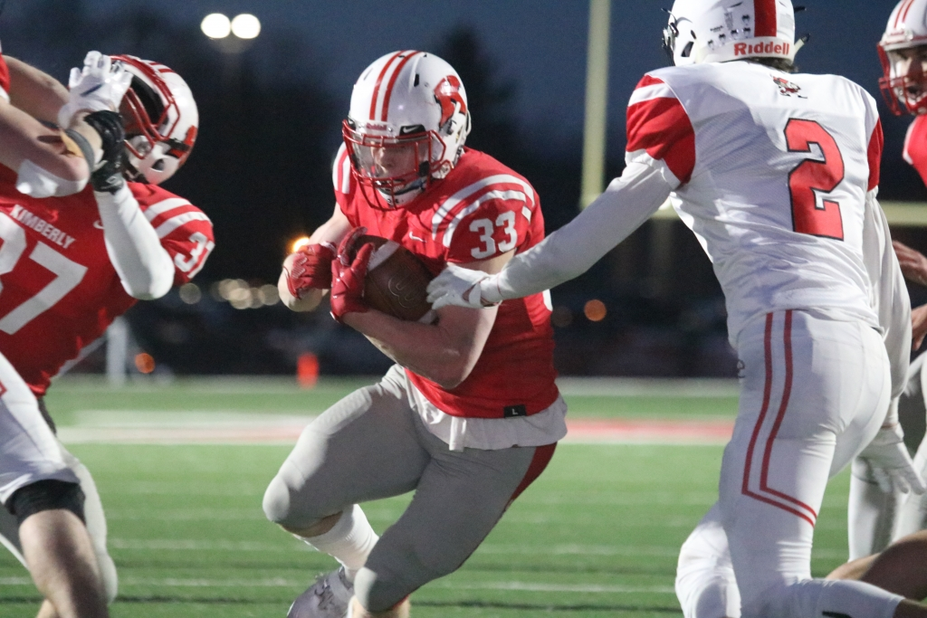 The Kimberly defense held a unique and stout Pulaski running game that had gashed Ashwaubenon for 368 yards and 8 touchdowns – on 10.8 yards...