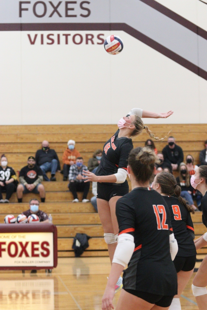 APPLETON — The Kaukauna High School girls volleyball season came to an end Saturday night at Fox Valley Lutheran High School, with the Ghosts...