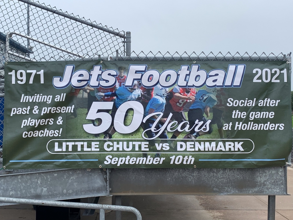 The Little Chute Gridiron Club is celebrating 50 years of Jets football at Friday's home high school game against Denmark.All coaches...