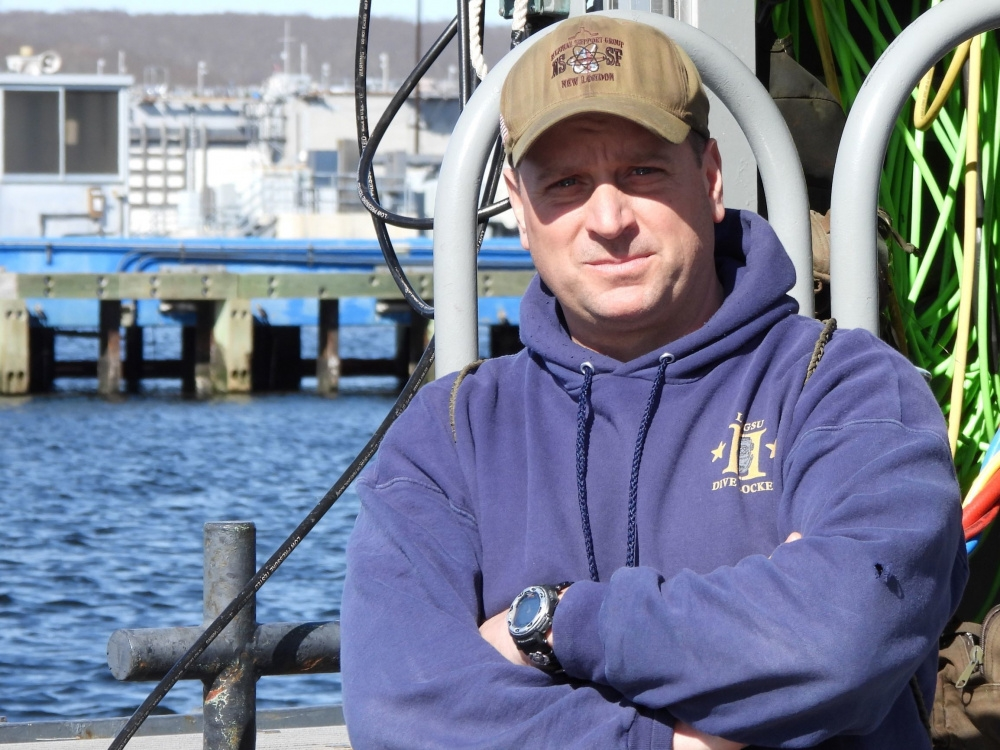 Special to the Times-VillagerPetty Officer First Class Todd Verhagen, assigned to Naval Submarine Support Facility, New London, is...