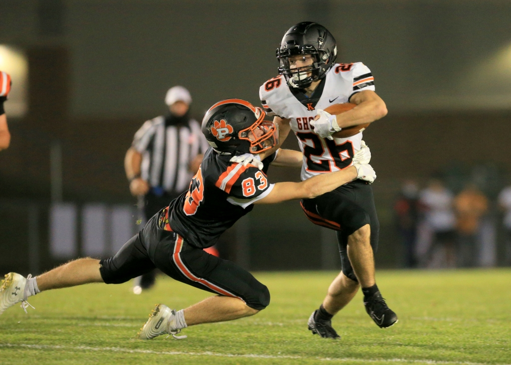 WESTON – One could look at Kaukauna's first three wins and point out that they came against smaller programs.Martin Luther, Plymouth...