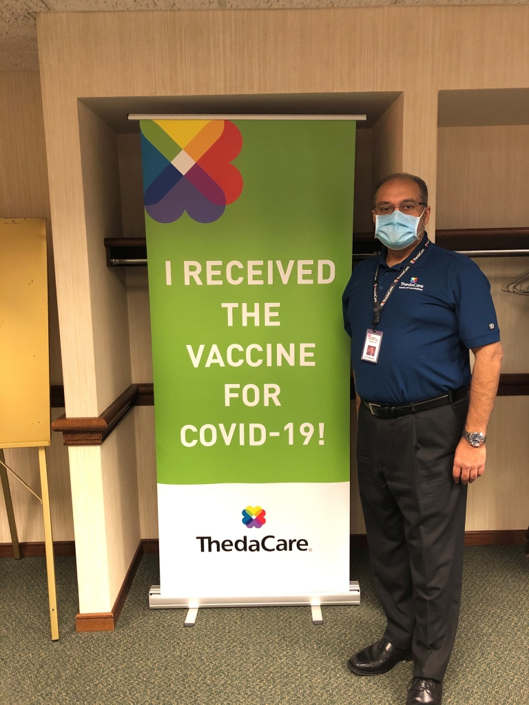 Nearly three weeks after receiving the initial shipment of the COVID-19 vaccine, ThedaCare is in the final stages of vaccinating Phase 1a team...