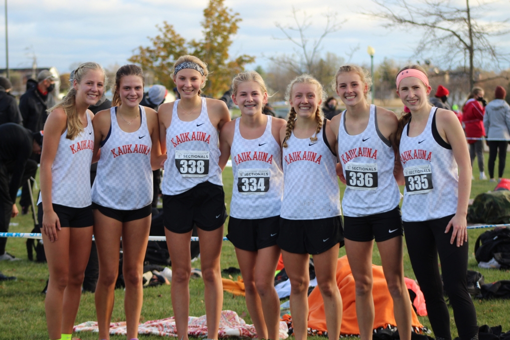 The Kaukauna girls' cross country team has been maybe the most dominant cross country force in the state in 2020. The Ghosts won every regular...